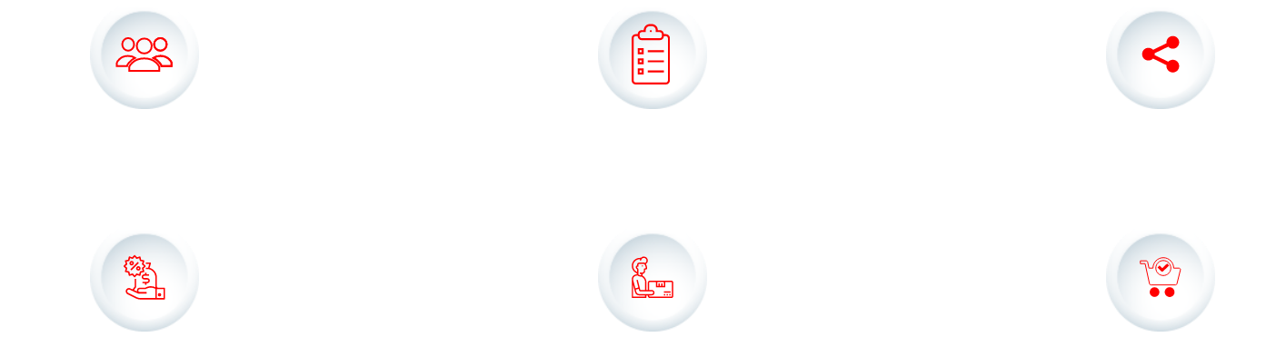 Create Group of Friends > Add Products to list > List Shared with Friends > Friends buy your grocery > Grocery Delivered > Sell unused grocery to friends